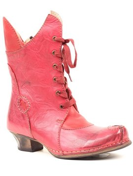 Fun Funky Leather Boot