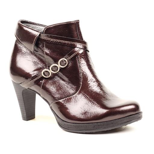 UTV Paton Leather High Heel Bootie