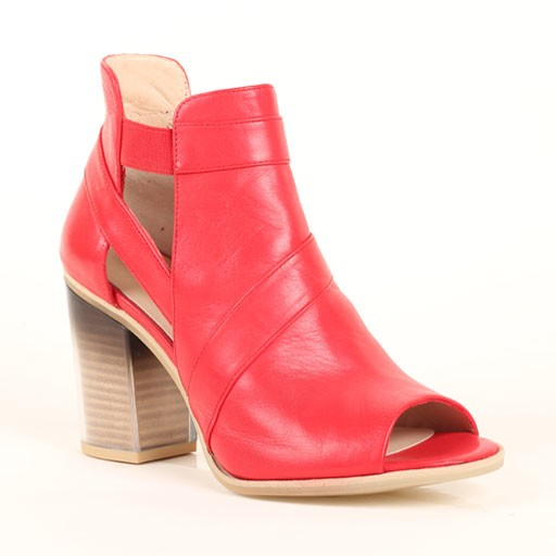 Audley Open Toed Bootie Sandal