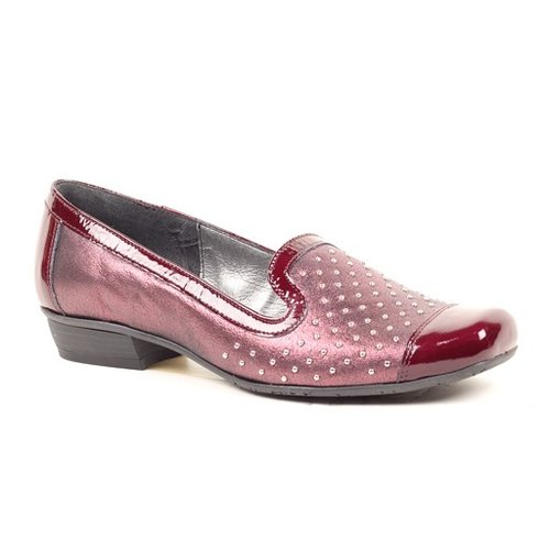 Classic Loafer with Metal Stud Detailing