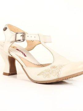 Gold Button Shoe