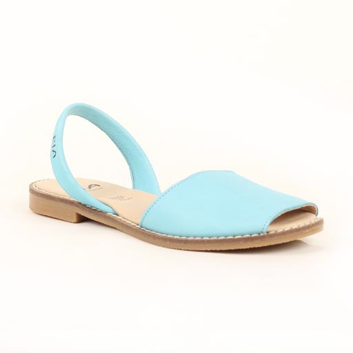 Ria Leather Flat Sandal
