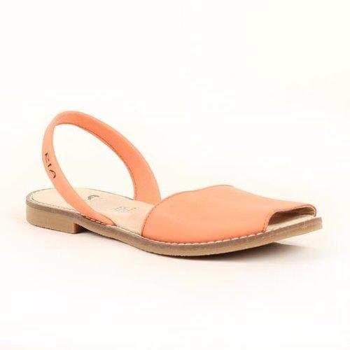 Ria Leather Flat Sandal