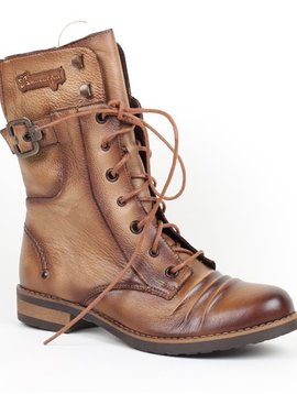 Maciejka Bronze Coloured Leather Boot