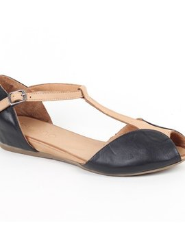 Bueno Sandals with T Strap