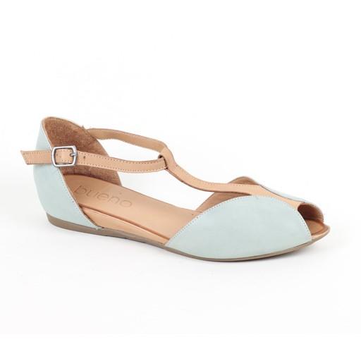 Bueno Bueno Sandals with T Strap