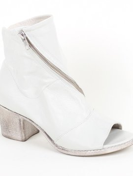Summit Open Toe Bootie with Cross Zip