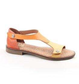 Wanda Panda Flat leather Sandal