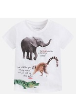 Mayoral USA 3077 S/S Animals Shirt