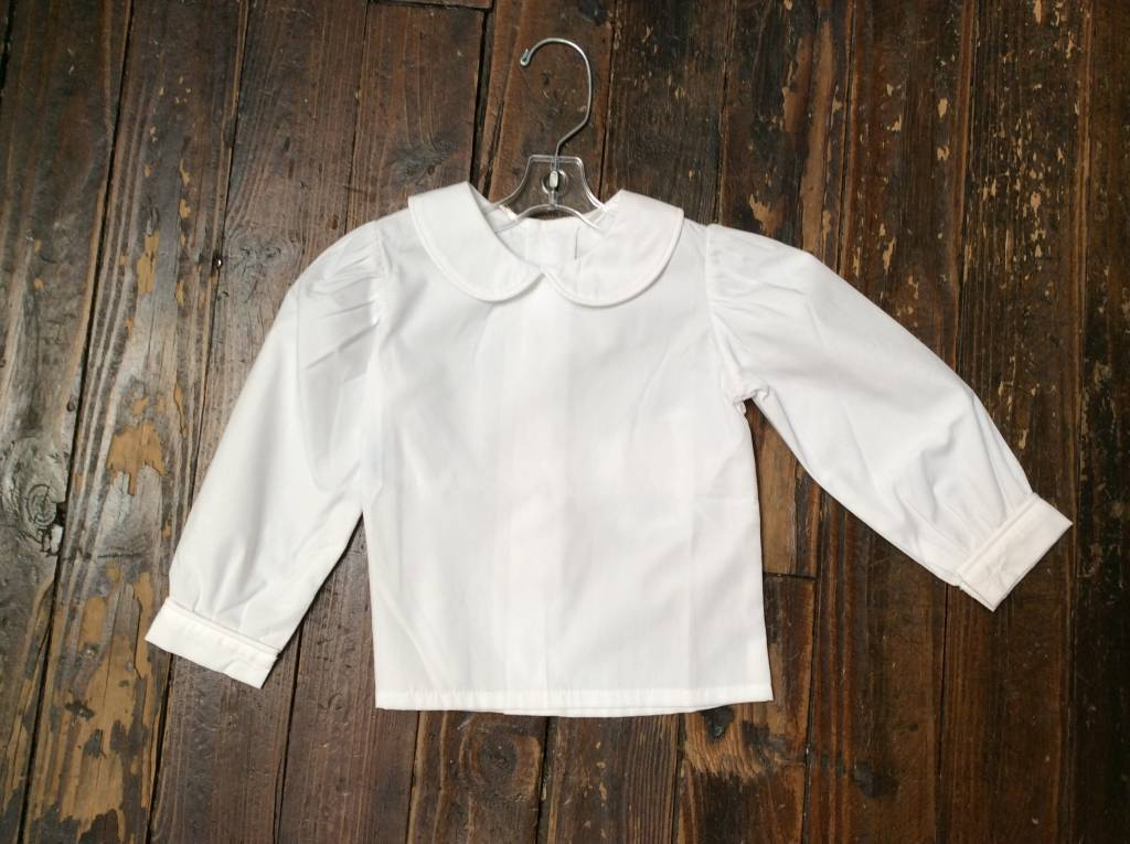 Remember Nguyen Peter Pan white shirt L/S