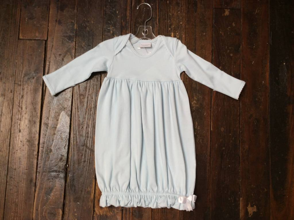 Squiggles LapShoulder Gown