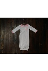 Mud Pie Initial baby gown