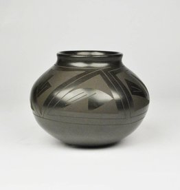 Tomasa Mora Small Black on Black Bowl