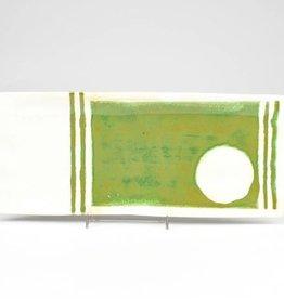Nancy Kolodny Green Painting, Narrow Rectangle