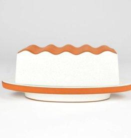 Paul R. Eshelman Butter Dish White