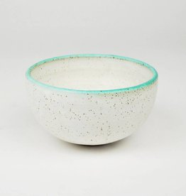 Natan Moss White & Mint Bowl