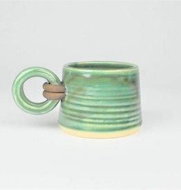 Jan Schachter Mug-Cushing Green