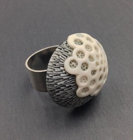 "CJ Jilek Dome Ring, ""Bloom"""
