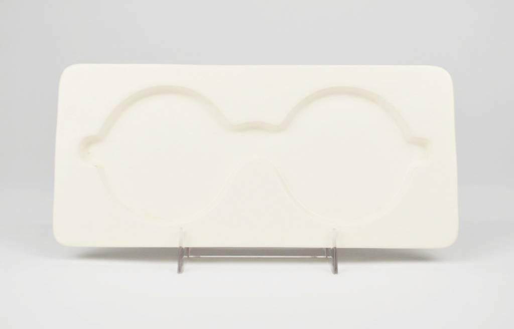 Joan Takayama-Ogawa White Glasses Holder
