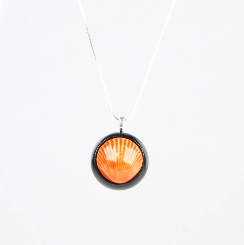 Studio Evans Shell-Red Orange