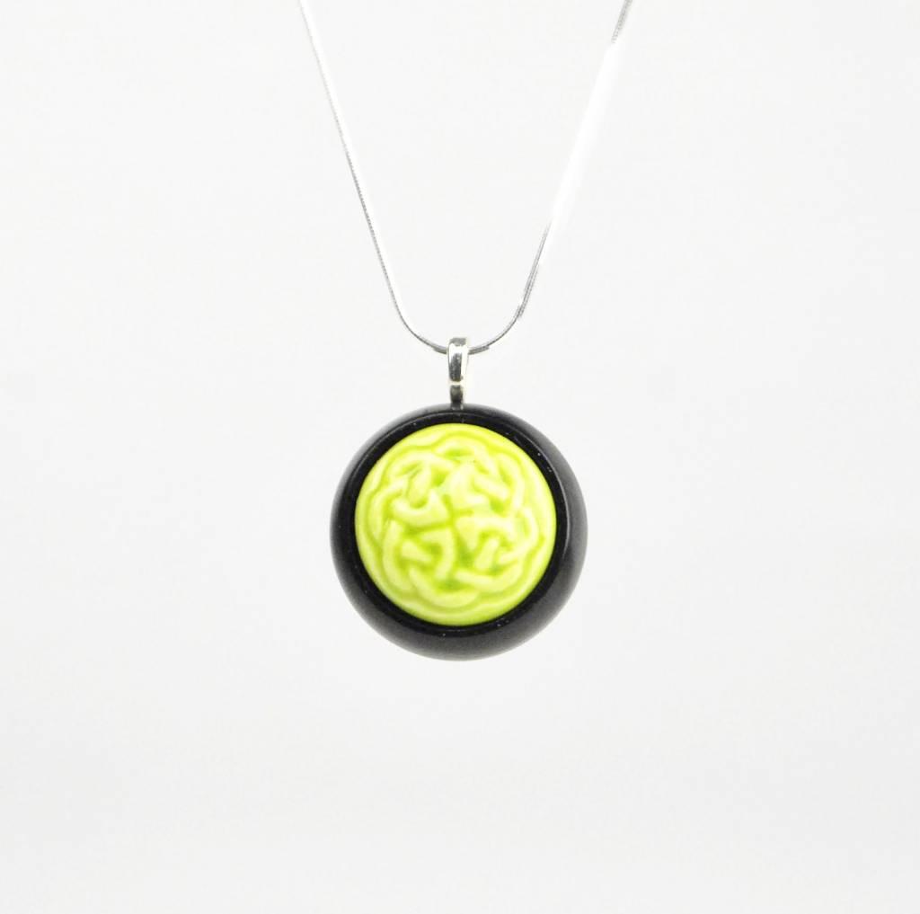 Studio Evans Celtic Knot-Light Green