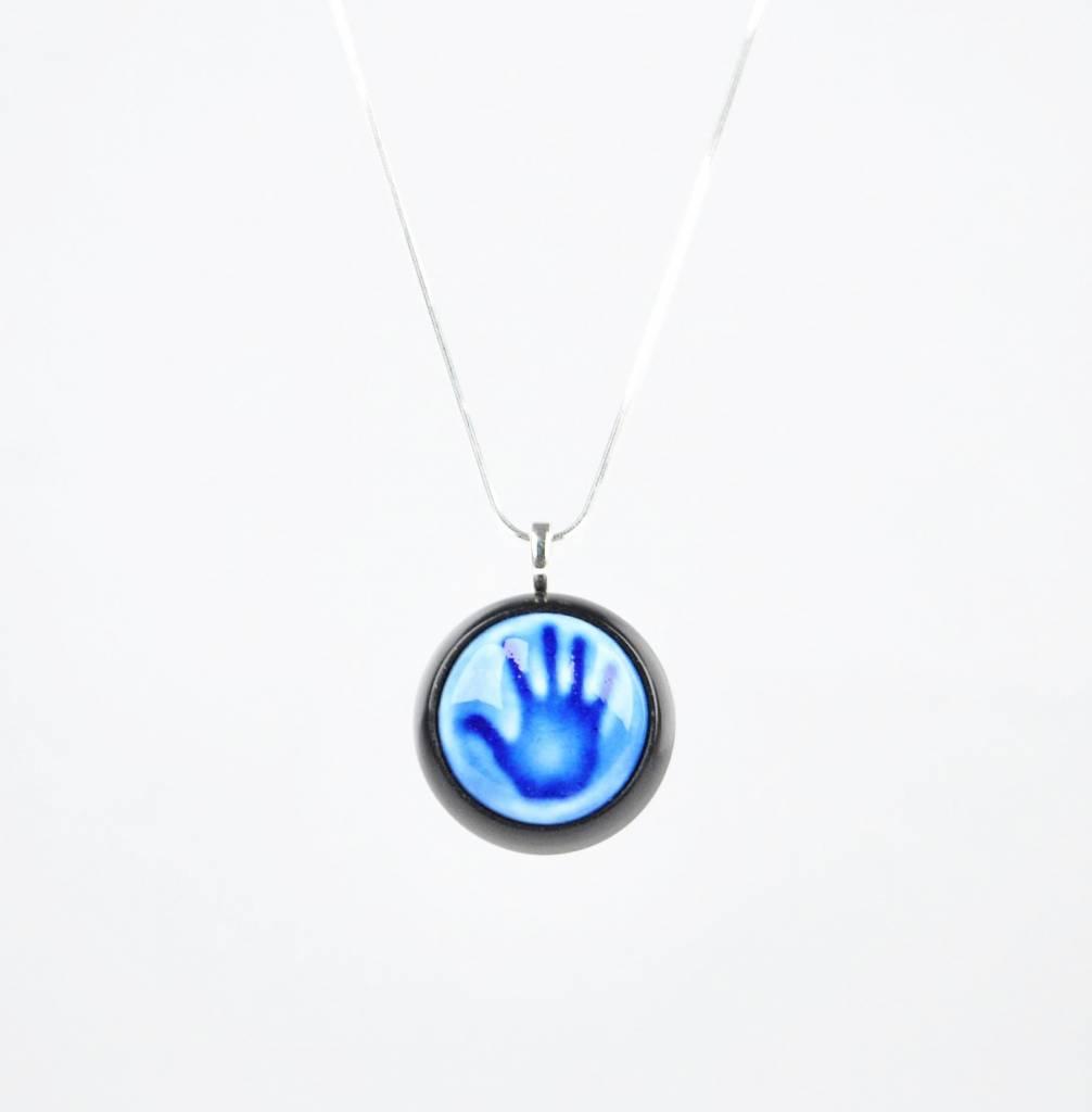 Studio Evans Hand-Cobalt Blue