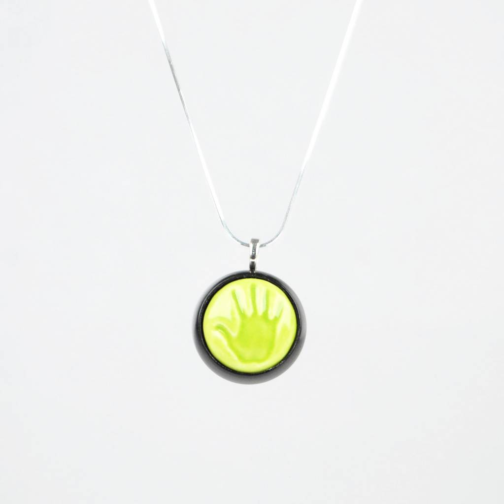 Studio Evans Hand-Light Green