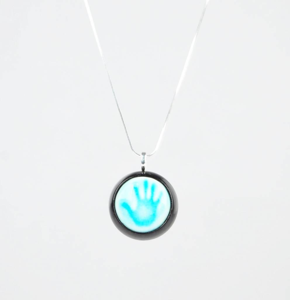 Studio Evans Hand-Turquoise
