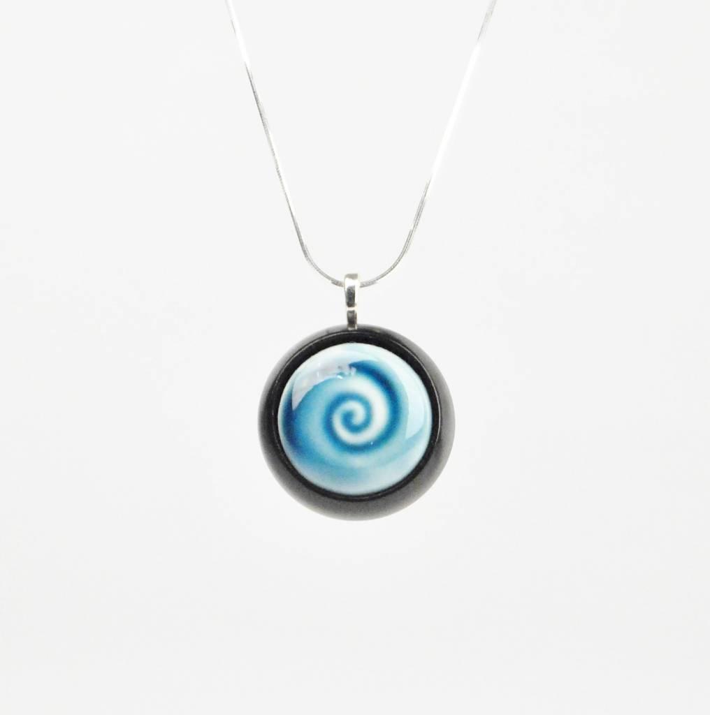 Studio Evans Spiral-Peacock Blue