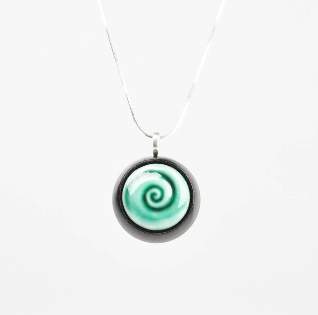 Studio Evans Spiral-Dark Green