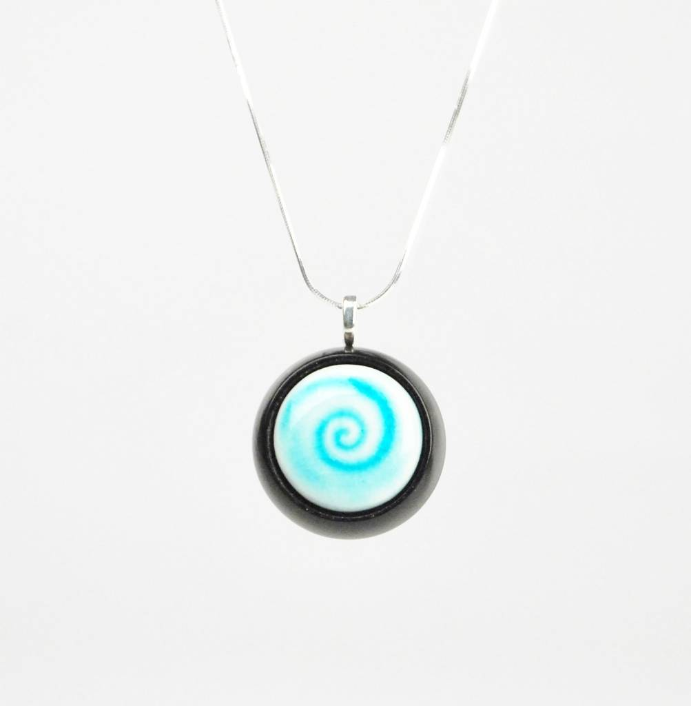 Studio Evans Spiral-Turquoise