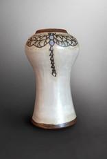 Sarah Gutierrez Dragonfly Vase