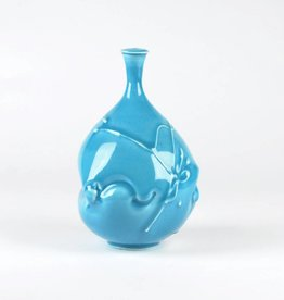 John W. Hopkins Blue Celadon Bottle