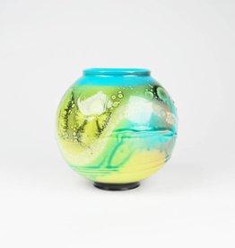 Adrian Sandstrom Small Blue Moon Vase
