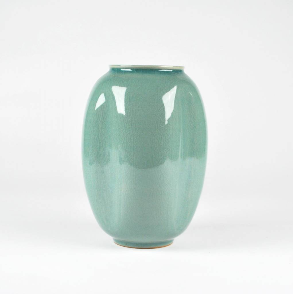 Choi In-Gyu Jar, Celadon