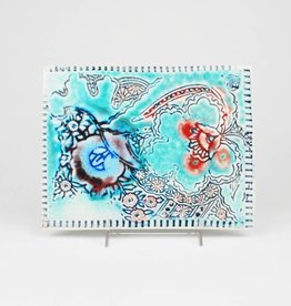 Julie Bagish Flower Tile