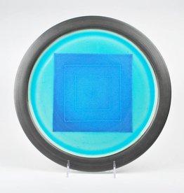 Harrison McIntosh Stoneware Platter. 1991