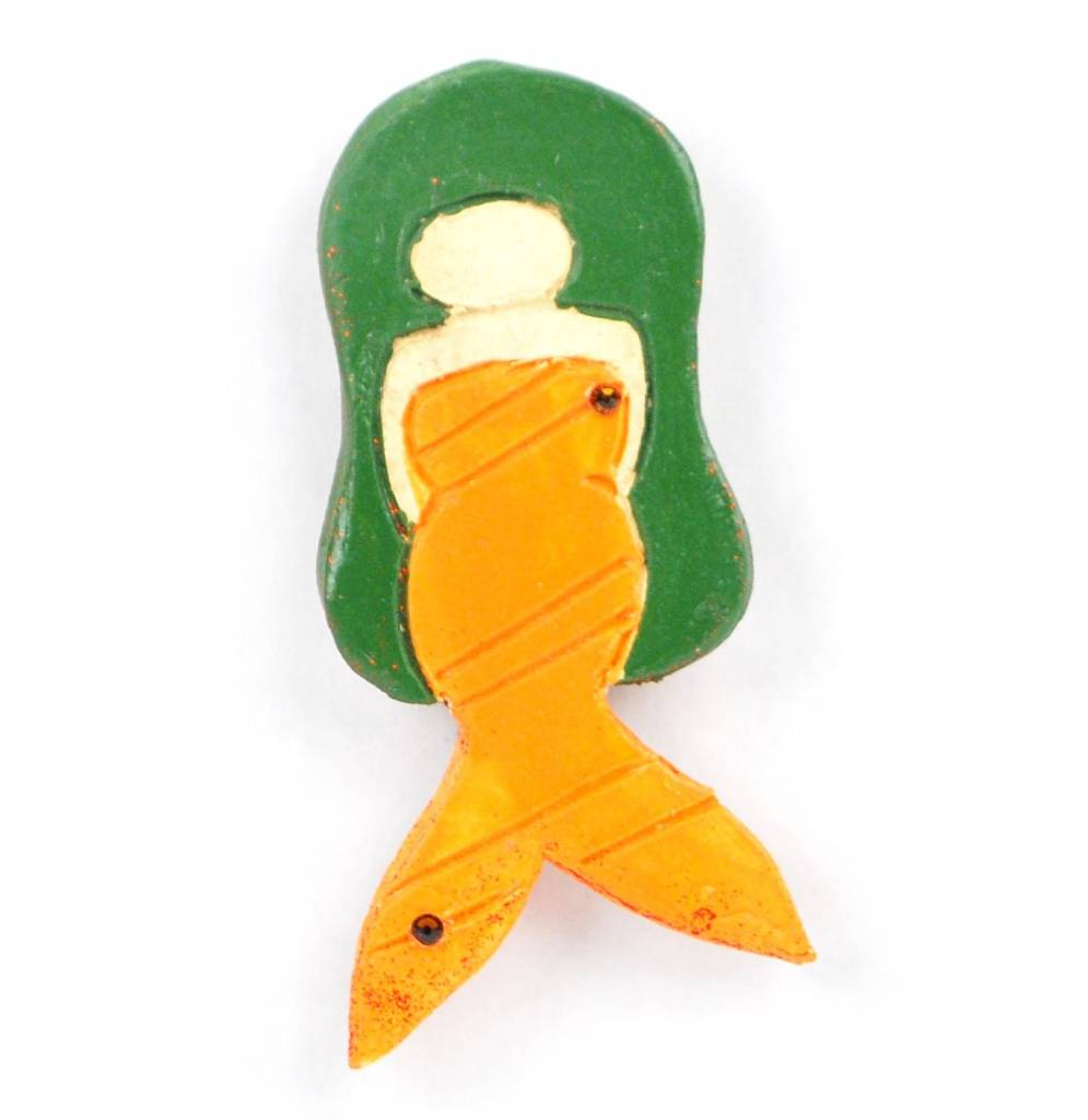 Kat Hopkins Small Mermaid Magnet