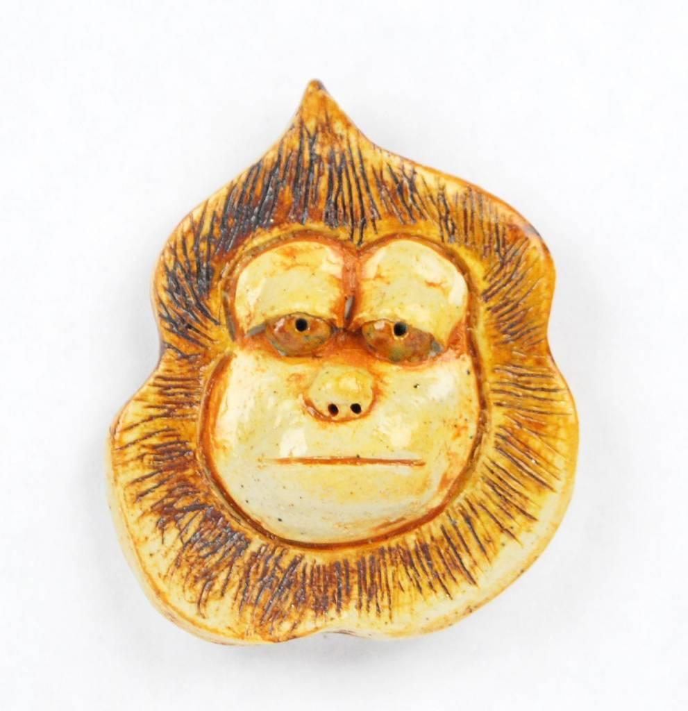 Kat Hopkins White Monkey Magnet
