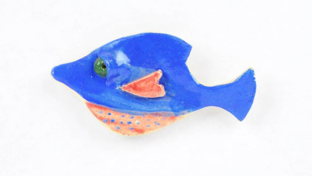 Kat Hopkins Fish Magnet