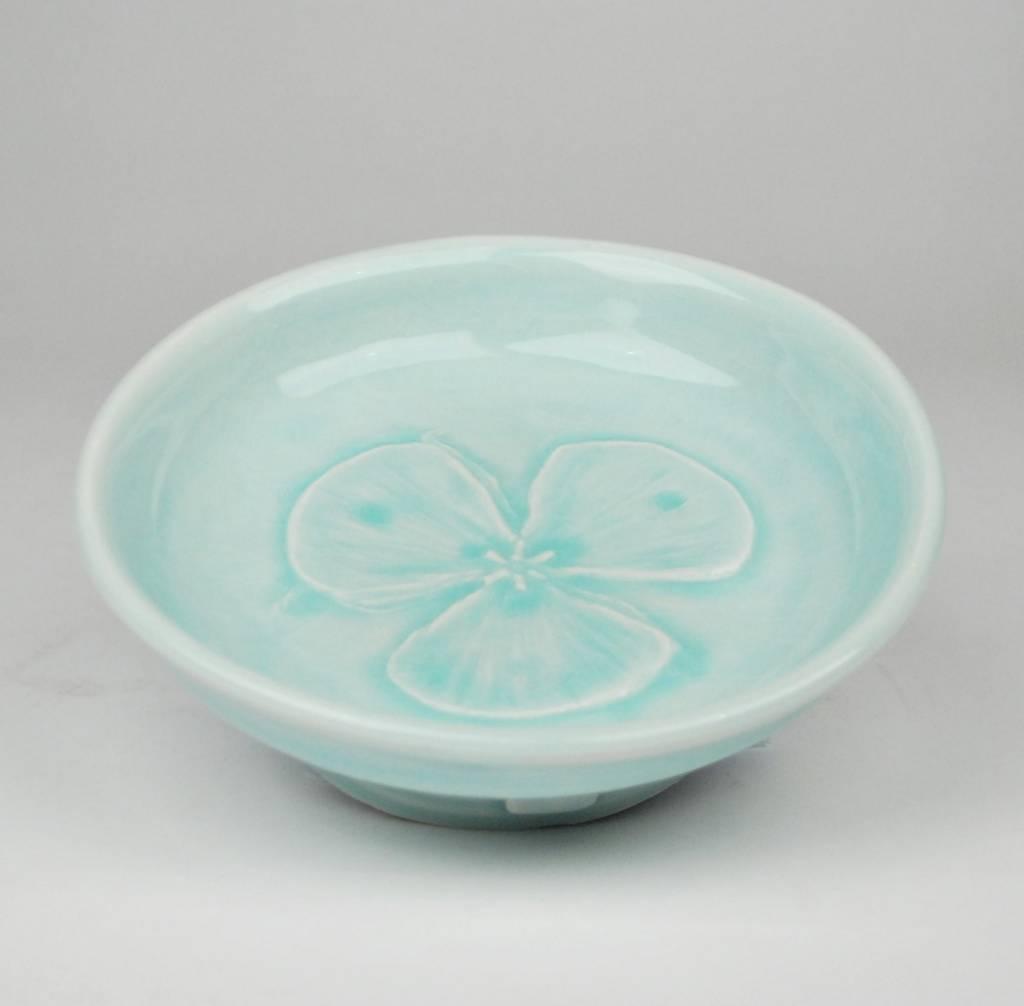 Stanley Klausner Butterfly Iris Bowl