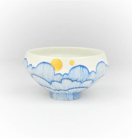 Single Tooth Ceramics Cloud Dessert Bowl