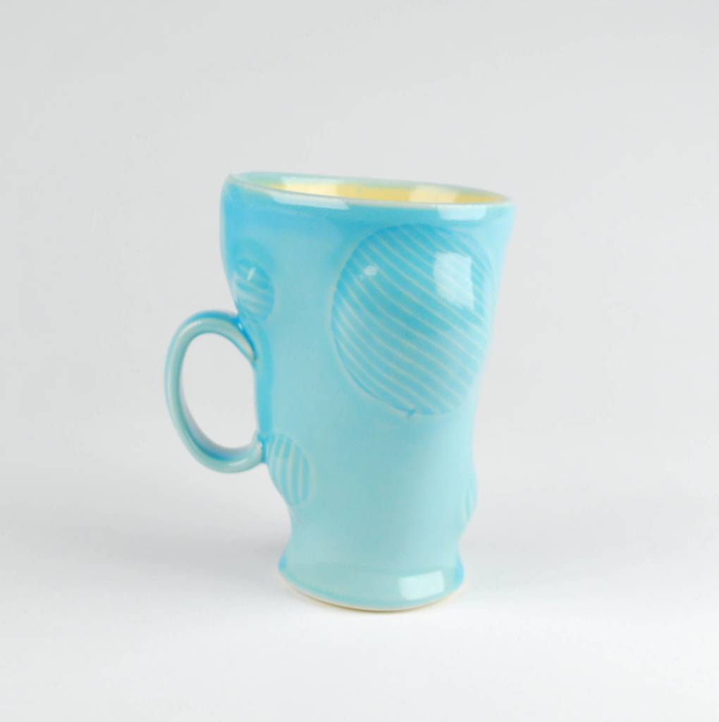 Scott Jennings Bulge Cup, Blue & Yellow