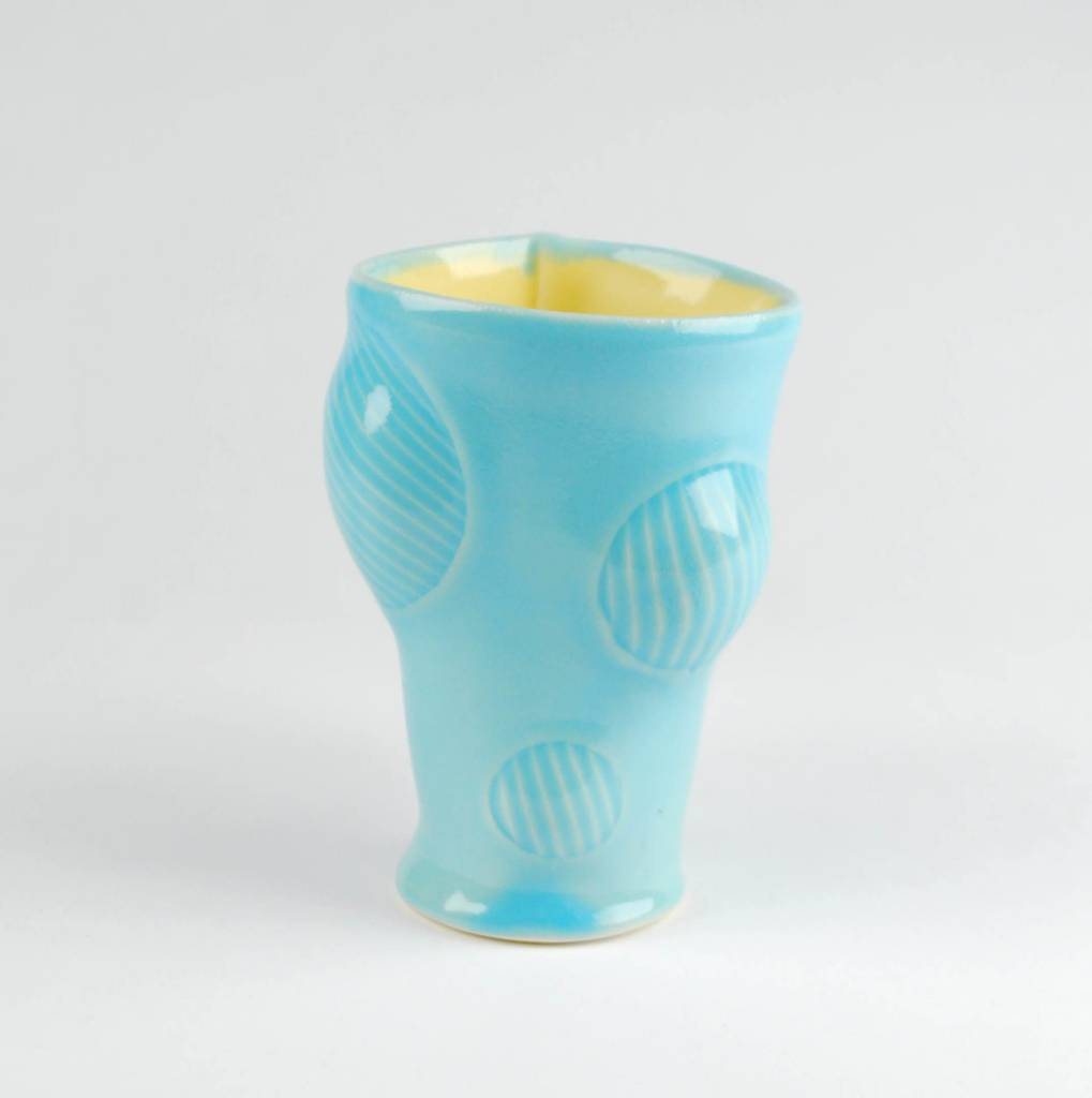Scott Jennings Bulge Cup, Blue & Yellow