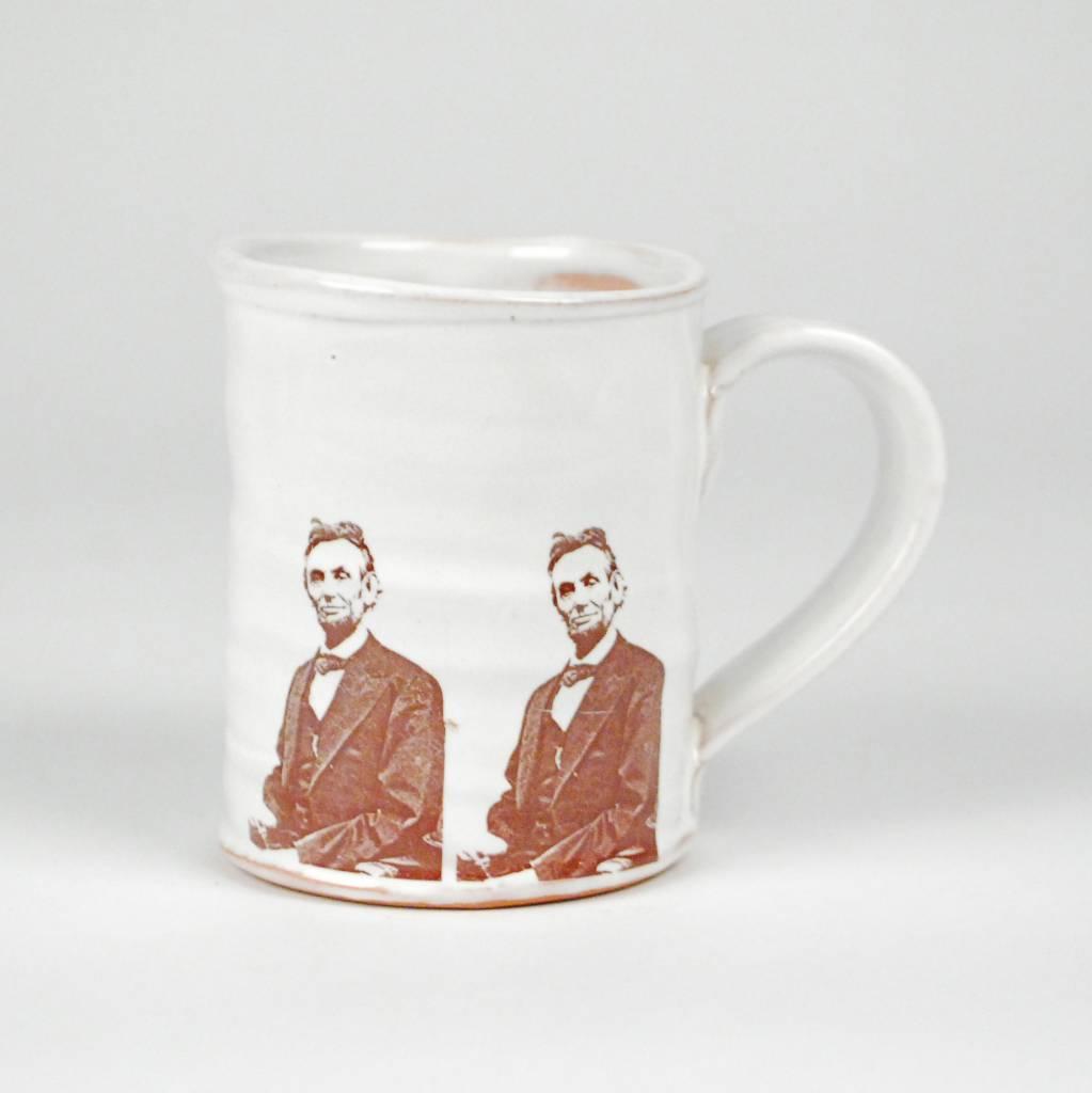 Justin Rothshank Face Mug- Abraham Lincoln