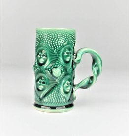 Stephen L. Horn Green Cup with Handle