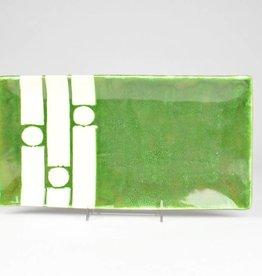 Nancy Kolodny Green Chain, Small Rectangle