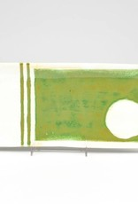 Nancy Kolodny Green Painting, Narrow Rectangle