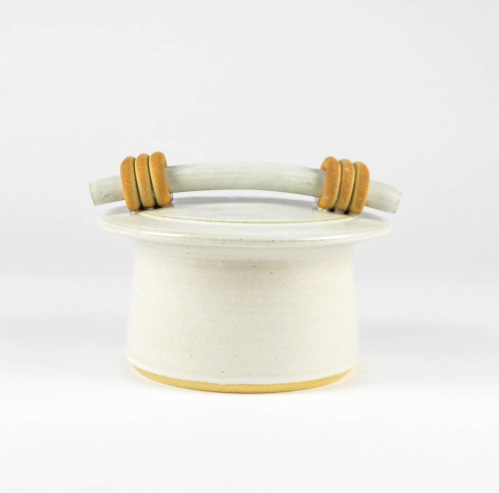 Jan Schachter Voltsatin Storage Jar with Lid