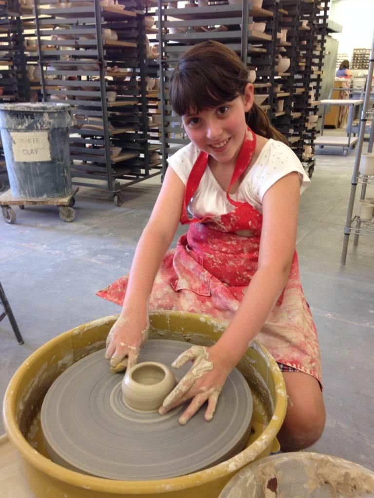 Clay Camp - Week 1- Wheel Throwing: 12-16 yrs